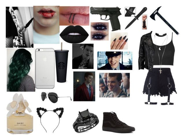 """""""jerome valeska"""" by shannonjames-1 ❤ liked on Polyvore featuring 5.11 Tactical, Native Union, Lime Crime, Marc by Marc Jacobs, Topshop, VIPARO, ASOS, Vans and Ray-Ban"""