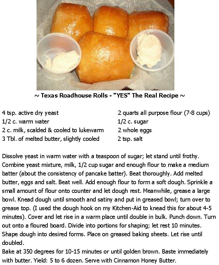 "~ Texas Roadhouse Rolls - ""YES"" The Real Recipe ~"