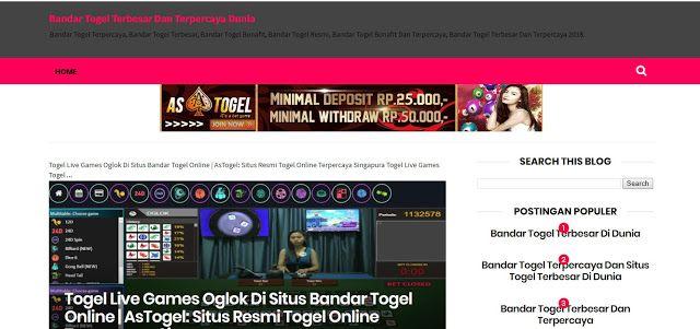 5 bandar togel terbesar di indonesia