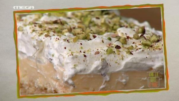 Cheesecake με καραμελωμένα φύλλα κρούστας και μαρμελάδα φράουλας - Μάριος Κυπριώτης | webtv, συνταγεσ | MEGA TV ΚΑΝ' ΤΟ ΟΠΩΣ Ο ΑΚΗΣ