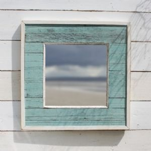 beach style mirror, i want it above my night stands!