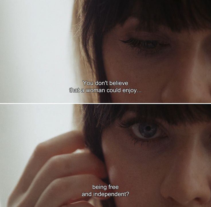 ― (500) Days of Summer (2009)Summer: You don't believe that a woman could enjoy being free and independent?