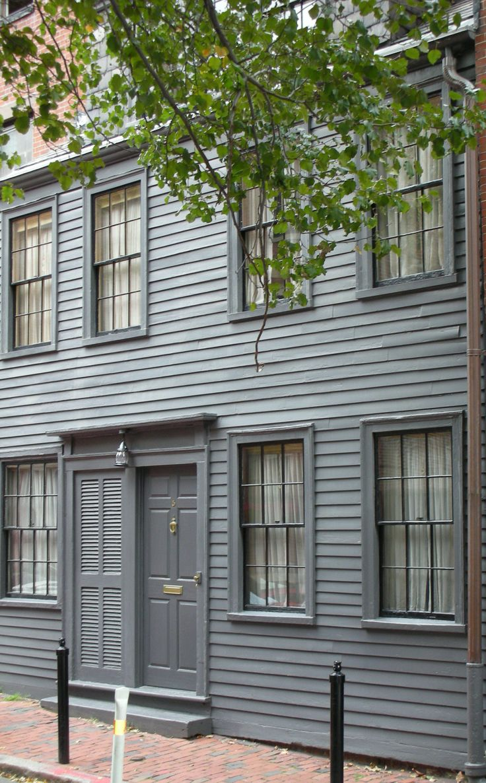 150 best saltbox style images on pinterest saltbox houses george middleton house 5 pinckney street beacon hill 1790