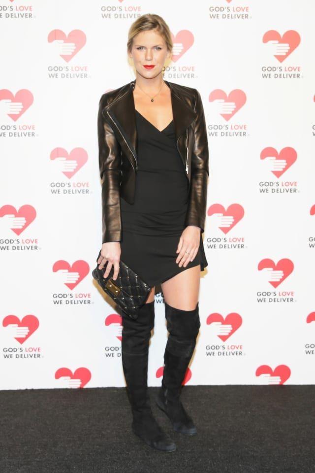 Alexandra Richards Wears Thigh High Boots · NYLON