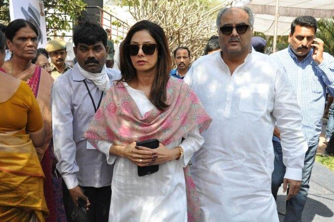 When Sridevi tied rakhi to husband Boney Kapoor to prove love for married Mithun Chakraborty