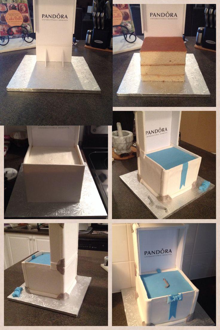 Pandora Cake - Construction Steps by Karen's Cakes
