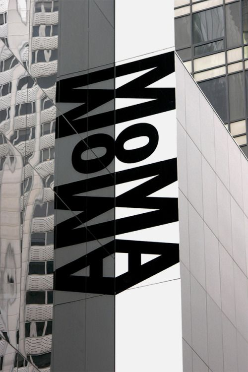 searchsystem: Bruce Mau Design / Museum of Modern Art / Signage...