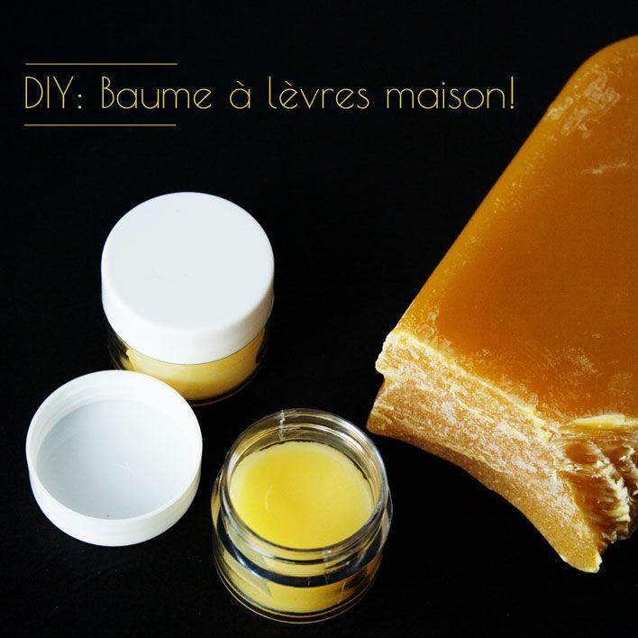 Une recette de base et quelques alternatives pour faire votre baume à lèvres maison facilement.