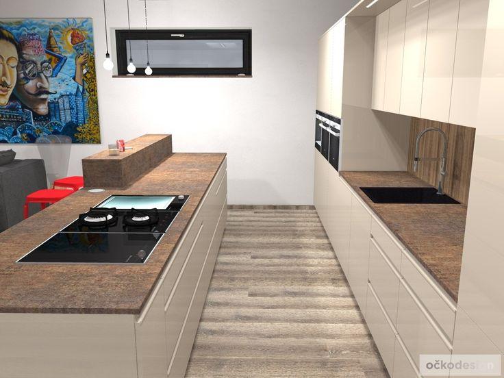 V kuchyni je dostatek úložných prostor na všechny kuchyňské pomocníky