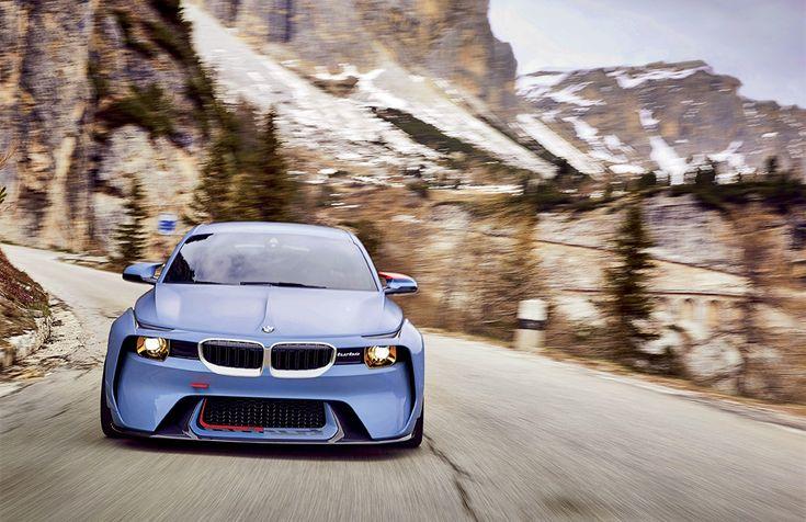 Концепт BMW 2002 Hommage показали на «Конкурсе красоты»