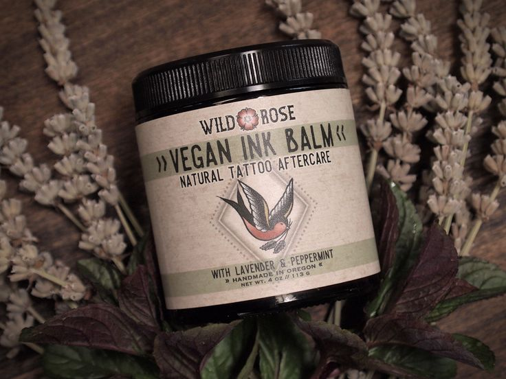 Vegan Ink Balm - Natural Tattoo Aftercare Ink Balm is an ideal alternative to petroleum jellies and synthetic creams traditionally used for tattoo procedures and healing. Our unique blend of moisturiz