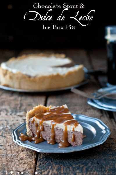 Chocolate Stout and Dulce de Leche Ice Box Pie | Recipe ...