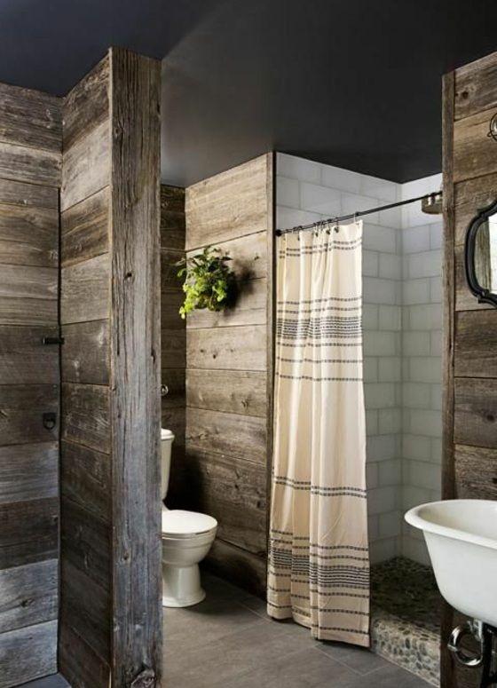 badezimmer im landhausstil einrichten holz wandfliesen