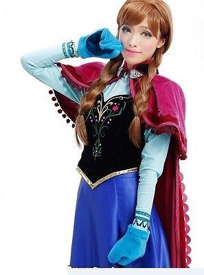 Anna Frozen Costume Adult
