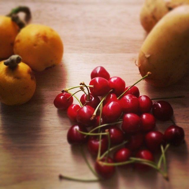 dal produttore al consumatore: nespole, ciliegie, patate