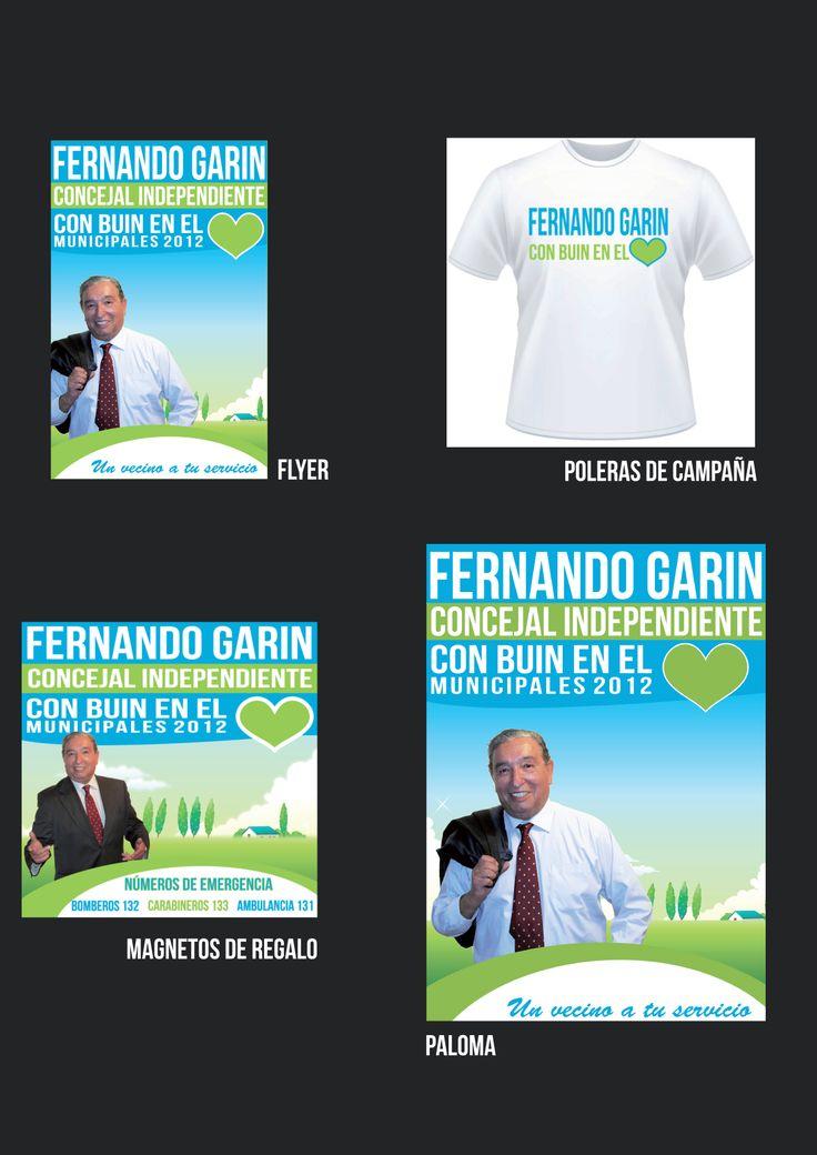 Campaña Candidato a Concejal