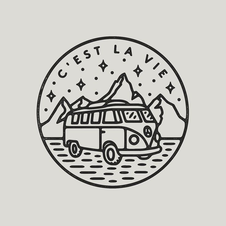 🚌 #graphicdesign #design #illustration #art #artwork #drawing #handdrawn #slowroastedco #mountains #camping #travel #adventure #nature #outdoors #explore