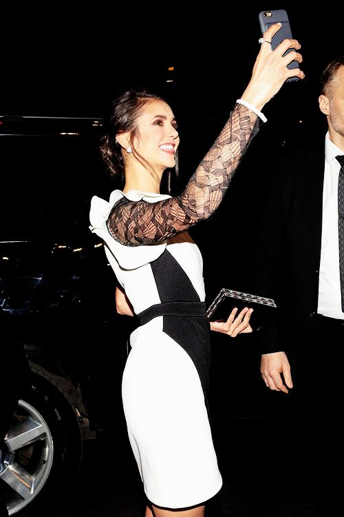 """Nina Dobrev arriving at the worldwide premiere of """"xXx: The Return of Xander Cage"""" in Mexico City on January 5, 2017"""
