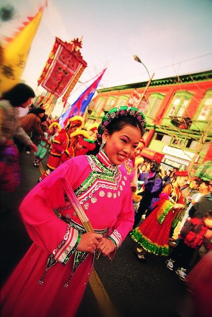 Vancouver's Chinatown Festival is an array of colours! #explorebc #GILOVEBC
