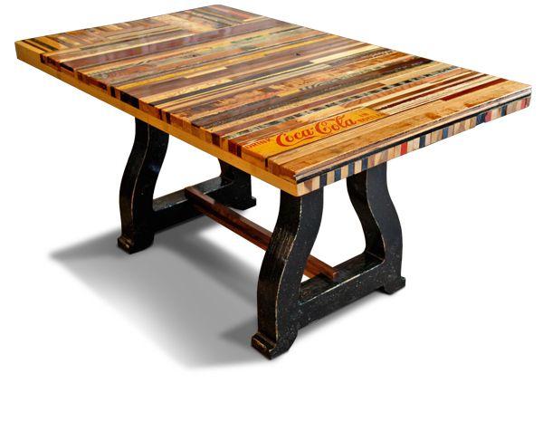 40 mejores im genes sobre mesas en pinterest mesas de for 100 year old oak table