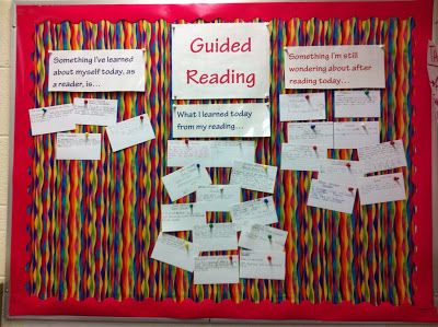 Blog post on using guided reading exit slips as a way to make learning generative, a quick, formative assessment after a guided reading lesson, and a visual to get all students thinking about their reading throughout the day.