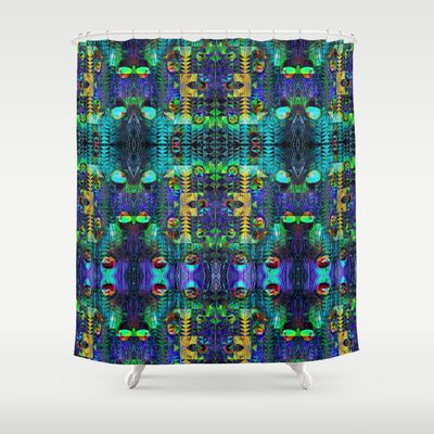 Peacock Shower Curtain by Nahal - $68.00