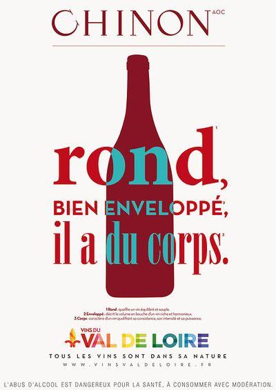L'interprofession des Vins du Val de Loire (Vitiloire) part en campagne ! 8000 affiches déclineront sur le ton de la personnification, avec humour, les 50 AOC du terroir. Une création efficace, un visuel épuré et une accroche bien visible, Interloire vise la proximité avec les consommateurs. Incontournable pour une bonne campagne d'affichage : un dispositif digital complémentaire autour du hashtag #1vin1caractère https://www.1vin1caractere-vinsvaldeloire.fr