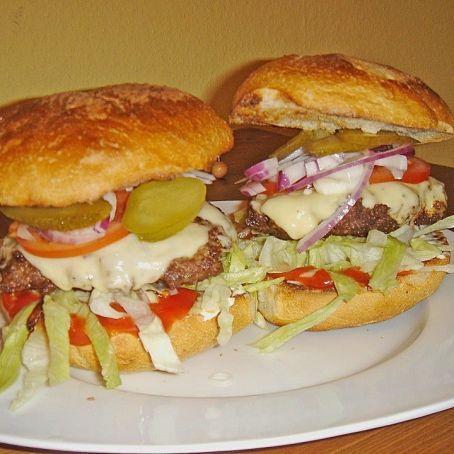 """Bacon - Cheeseburger """"heart""""-Emoticon  Der echte Burger"""