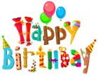 Funny Happy Birthday Clipart Image                                                                                                                                                                                 More