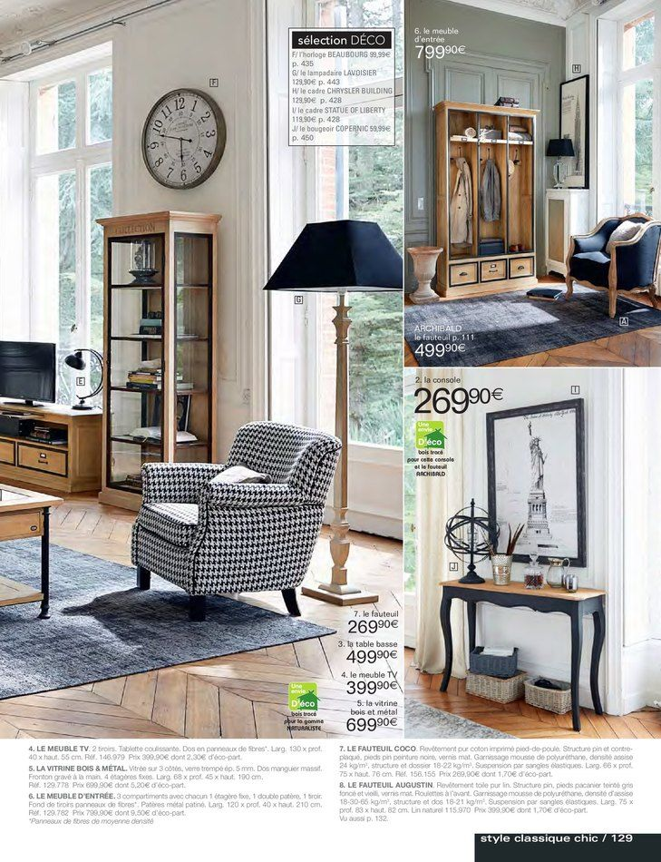 excellent catalogue et promotions de maisons du monde with la maison du monde catalogue. Black Bedroom Furniture Sets. Home Design Ideas