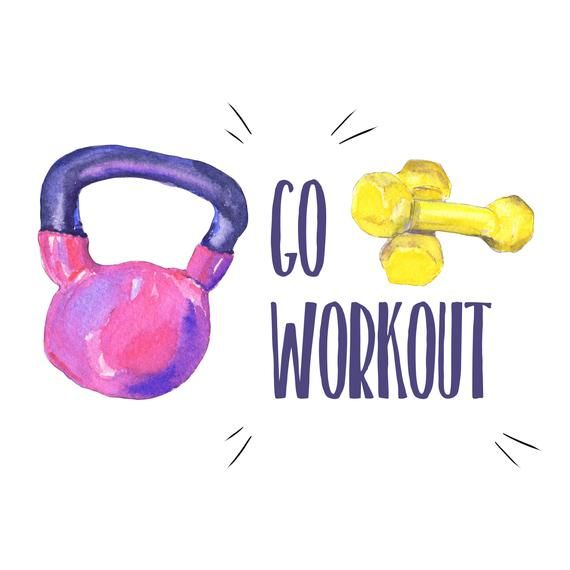 Fitness Clipart Gym Clipart Workout Clipart Dumbbell Clipart Fitness Stickers Diet Clipart Planner Clipart Png Diy11 In 2020 Fitness Backgrounds Gym Photos Workout