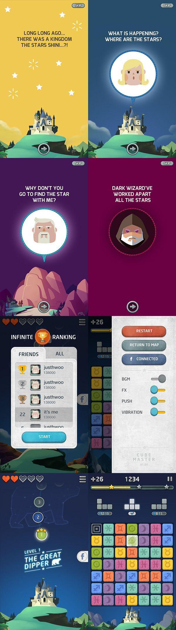 Cube Master Game Design on Behance: