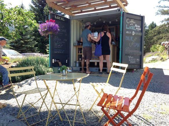 Pop Up coffee shop. So simple! so perfect! PopUpRepublic.com