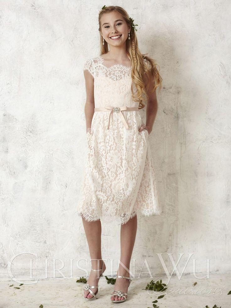 8 best Mini Maids/ Jr. Bridesmaids Dresses images on Pinterest ...