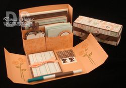 Stationary box video and template