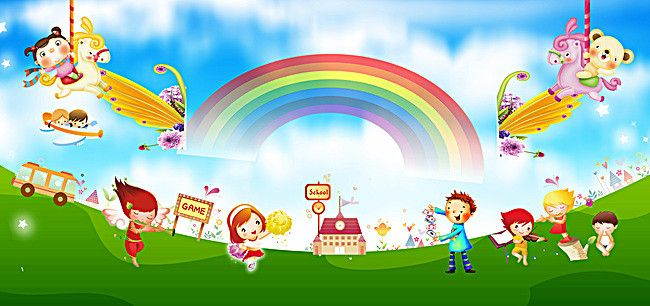 Childrens Educational Cartoon Background Plane In 2020 Cartoon Background Kids Poster Cool Backgrounds Wallpapers