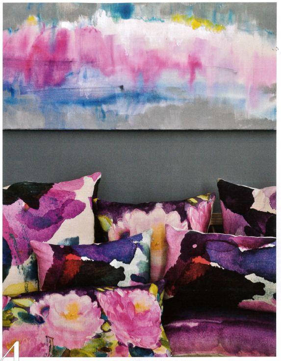 watercolour fabrics trends 2015