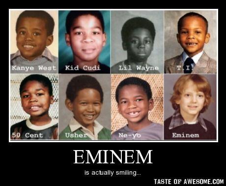 Eminem Funny | Funny Mar Eminem Your not following me on ...