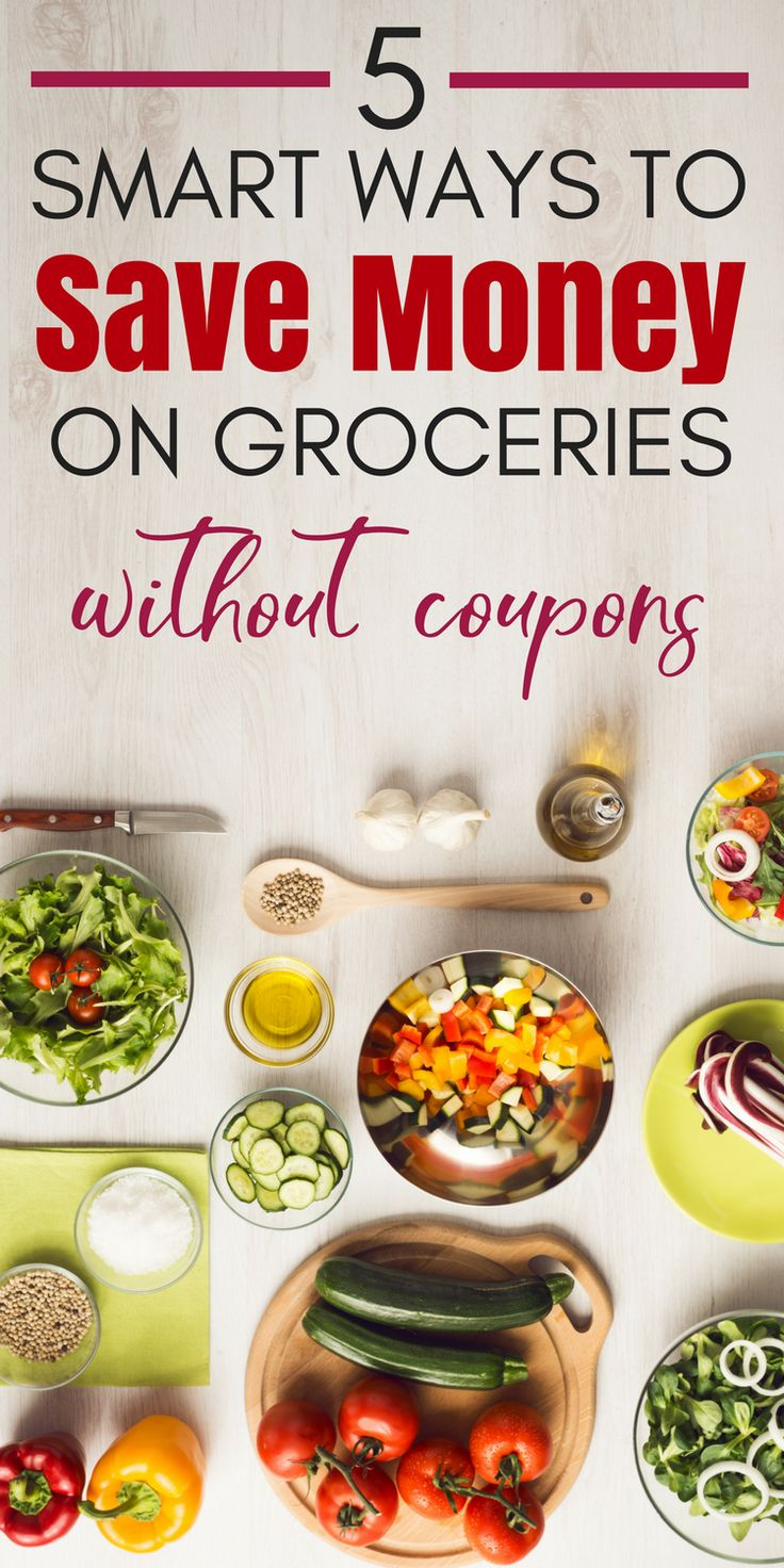 You can save money on groceries without coupons and still eat well! These frugal living tips will help you serve your family healthy food and stick to your budget. #groceries #MoneySavingTips #FrugalLiving