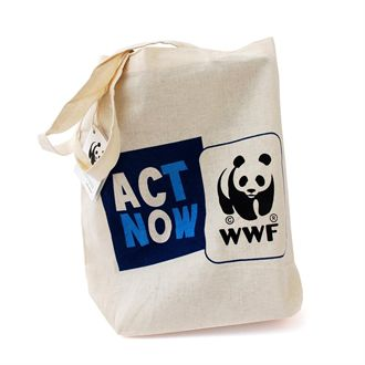 Act Now shopping bag wwf.gr