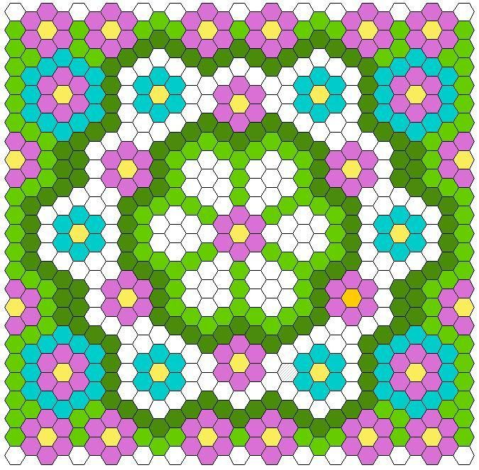 Looking for your next project? You're going to love Hexagon Quilt Layout by designer Twiddletails.