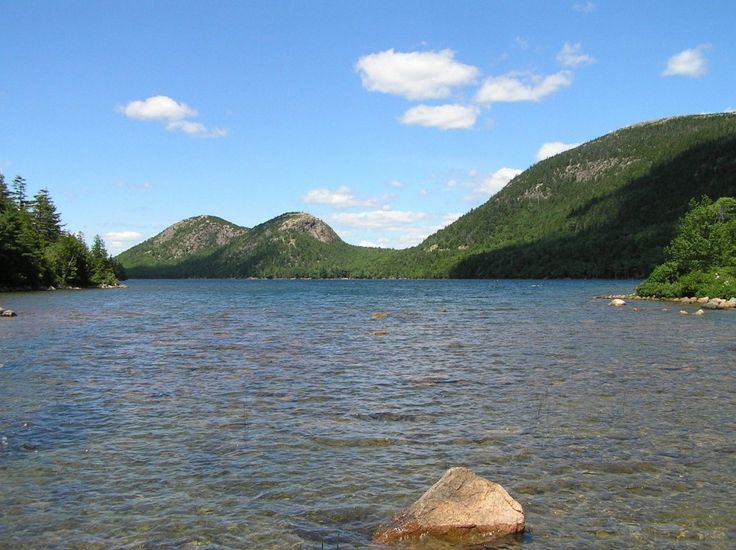 Jordan Pond and Bubble Rock, Acadia National Park, ME