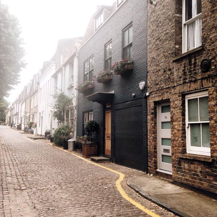 // cobblestone streets in old towns - it's like looking at christmas