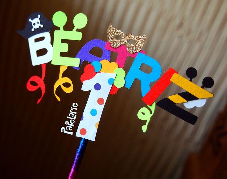 Topo de Bolo Carnaval | Papelarie | Elo7
