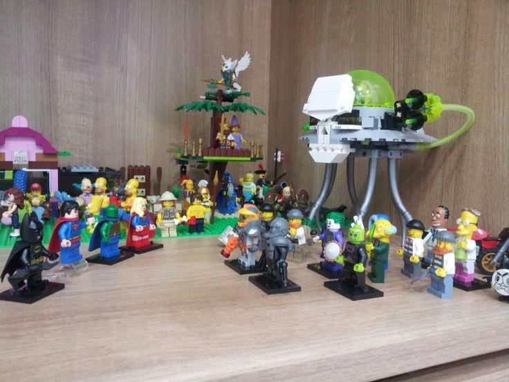#Lego #Superman #Batman #Supergirl #TheMartianManHunter #Joker #Braniac