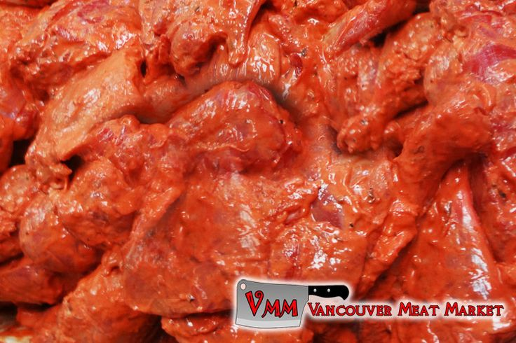 Tandoori Marinated Chicken Legs and Thighs at Vancouver Meat Market