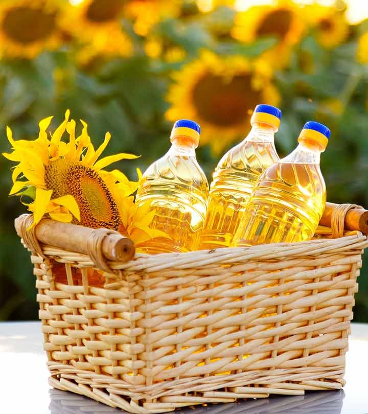 20 Best Benefits Of Sunflower Oil (Surajmukhi Tel) For Skin, Hair And Health