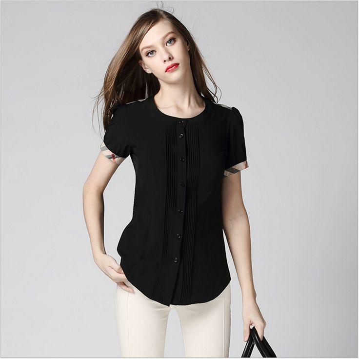 Cheap De gama alta de verano blusa de moda negro Bodycon mujeres camisas para mujer camisa de la oficina 2015 del estilo de londres mujeres ocasionales blusas 6056 B, Compro Calidad Blusas y Camisas directamente de los surtidores de China: De gama alta de verano blusa de moda negro Bodycon mujeres camisas para mujer camisa de la oficina 2015 del estilo de londres mujeres ocasionales blusas 6056-B