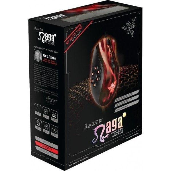 Razer Naga Hex Moba Pc High Performance Gaming Mouse 5600dpi