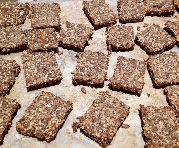 Recipe Healthy crackers by The Happy Kitchen - Recipe of category Baking - savoury